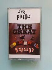 SEX PISTOLS - The Great Rock n Roll Swindle  (UK Cassette Album)