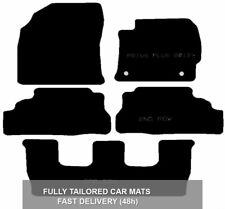 Toyota Prius Plus 2012On Fully Tailored Black Car Mats Efficient