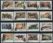 Manama 1971 used Mi.514/29 A Schutz Protection Wildtiere Wild Animals Wildlife