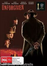 Unforgiven DVD CLINT EASTWOOD TOP 250 MOVIES BEST PICTURE WESTERN BRAND NEW R4