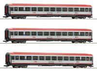 Roco 74132 Personenwagenset Regionalexpress Innsbruck-Bozen ÖBB 3x H0