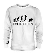 SPRINT RUNNER EVOLUTION OF MAN UNISEX SWEATER MENS WOMENS LADIES GIFT CLOTHING