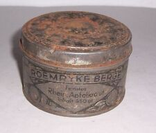 Antique Boite de Conserve Roemryke Berge Feinestes Rhein. Apfelkraut À 1900/20