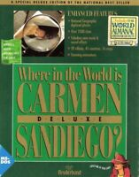 WHERE IN THE WORLD IS CARMEN SANDIEGO DELUXE +1Clk Macintosh Mac OSX Install
