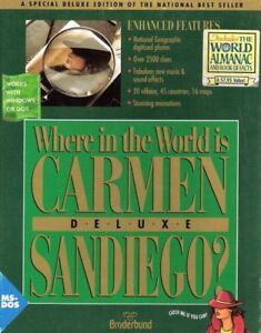 WHERE IN THE WORLD IS CARMEN SANDIEGO DELUXE +1Clk Macintosh Mac OSX Install
