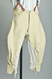 Foxhunting Gentleman's Edwardian Tautz Bespoke Tailored Riding Breeches. AUG