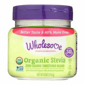 Wholesome! Organic Stevia Jar - Case Of 6 - 6 Oz