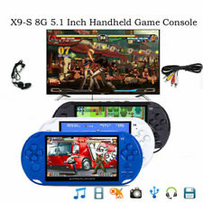 Portable 8GB Handheld X9-S PSP Game Consoles Player Built-in 10000 Games Xmas