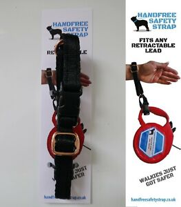 Retractable lead Safety Wrist Strap in Rose Gold Never Drop Your Lead Again
