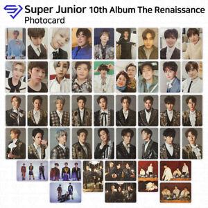 Super Junior SJ 10th Album The Renaissance Official Photocard KPOP K-POP