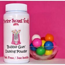 BUBBLE GUM Handmade Scented Body Dusting Powder TALC FREE 3oz