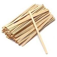 "High Quality Wooden Coffee/Tea Stirrers 7.48""-190mm - The Long One -  Qty 100"