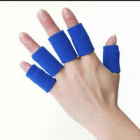 10PCS Finger Protector Sleeves For Arthritis Fingers Support Bandage Health Care