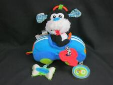 BABY STIMULATION VIBRATING RATTLE CRINKLE BELL INFANTINO DOG CAR CRIB PLUSH 8""