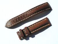 20mm Breitling 431X Band 20/18 Kalb braun brown Strap für Dornschliesse 063-20