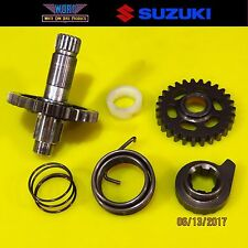 1998 Suzuki RM250 Kickstart Gear Kick Start Starter Shaft Kicker 96-00 26211-05D