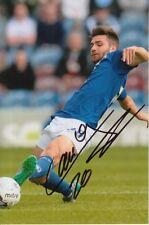 Birmingham City firmada a mano Jon total de las 6x4 Foto 2.