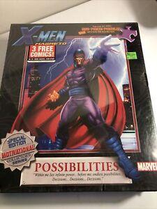 550pc Puzzle Marvel X-Men Magneto Motivational Factory Sealed!