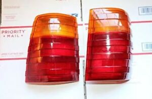 Left & Right (Pair)Mercedes-Benz 300td Wagon W123 S123 Taillight Tail Light Lamp