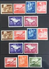 Germany Third Reich 1943 Indian Legion Azad Hind issues Perf/Imperf MNH
