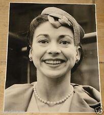 MARGOT FONTEYN ORIGINAL VINTAGE PLANET NEWS PRESS PHOTOGRAPH 1955