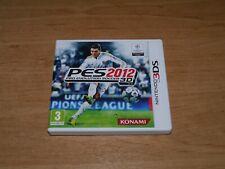 PES 2012 Pro evolution soccer 3D Game for Nintendo 3DS & 3DS XL