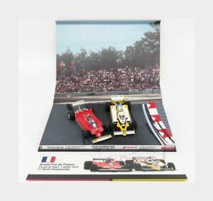 Ferrari 312T4 Villeneuve Brumm +Spark Renault F1 Rs10 Arnoux F1 1979 1:43 AS58B