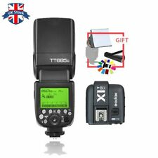 UK Godox TT685C 2.4G E-TTL GN60 Wireless Flash + X1T-C Trigger for Canon kit