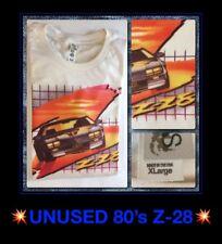 LAST1 100% USA VTG 80s 70s 90s Chevrolet Camaro Chevy Iroc Z-28 New T-Shirt XL