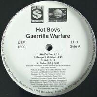 "HOT BOYS ""GUERRILLA WARFARE"" 1999 2X VINYL LP PROMO ~RARE~ HTF *SEALED*"