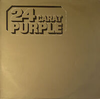 DEEP PURPLE 24 CARAT PURPLE LP EMI UK A3/B5 MATRIX GREATEST HITS EX CONDITION