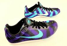Nike Zoom  Rival D 8 Track and Field  Women's Shoe Athletic Size 10  Purple Teal