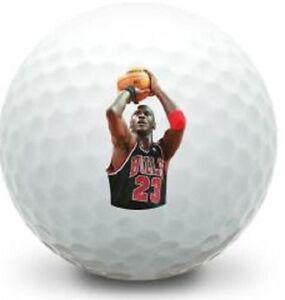 36 - 3 Dozen Nike Mint (Michael Jordan Basket LOGO) Used Golf Balls