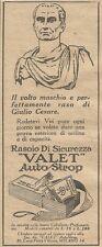 W1379 Rasoio di sicurezza VALET Autostrop - Pubblicità 1926 - Vintage Advert