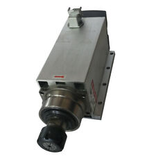 AC 25 A 220 V 1800rpm 300HZ  Furniture cutter CNC spindle motor ER32 6kw  square