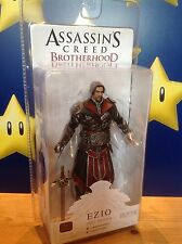 "Assassins Creed Brotherhood Ezio (Unhooded) Ebony Costume 7"" NECA Action Figure"