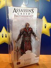 """Assassins Creed Fratellanza Ezio (con scappellamento) Ebony Costume 7"""" NECA ACTION FIGURE"""