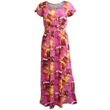 Tommy & Kate Ladies Pink Summer Maxi Dress - Floral - FREE P&P - Size 12 to 22