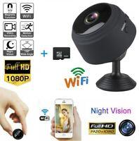USA Mini Camera Wireless Wifi IP Home Security HD 1080P DVR Night Vision Remote,