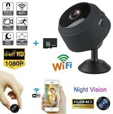 USA Mini Camera Wireless Wifi IP Home Security HD 1080P DVR Night Vision Remote