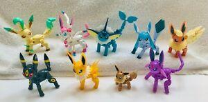 Mega Construx Pokémon Every Eevee Evolution - 9 Figures  ONLY