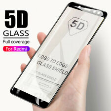 5D Tempered Glass Protective Screen Protector For Xiaomi Note 7 Pro 8 6 Mi A1 A2