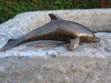 dauphin en bronze , bronze animalier d un dauphin