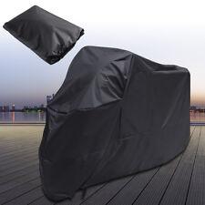 DE Motorradplane Abdeckplane Motorrad Abdeckung Cover XL Wasserdicht Schneefest