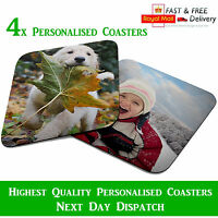Personalised Photo Coasters - Print Your Image, Photo, Logo and Text For Free!