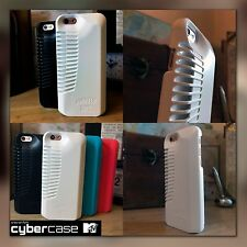 iPhone 5, SE Rugged High Impact Acoustic Enhancement Ballistic Shell White Case