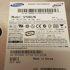 "Samsung Spinpoint 80GB, ATA/IDE Disco duro interno, 3.5"""