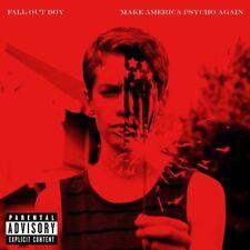 Fall Out Boy - Make AMERICA PSYCHO Again - CD ÁLBUM Dañado FUNDA