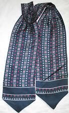 Echarpe bufanda 100% seda 14cm x 125cm EN BUEN ESTADO vintage bufanda