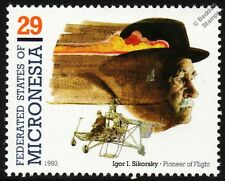 Igor SIKORSKY VS-300 Prototype Vought-Sikorsky S-46 Helicopter Aircraft Stamp